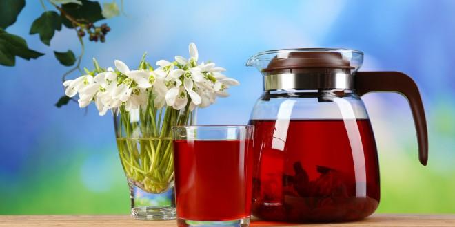 Chá do extrato de hibisco inibe obesidade e hipertensão arterial