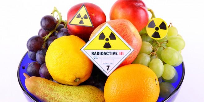 Alimentos com radiação podem atacar sua saúde