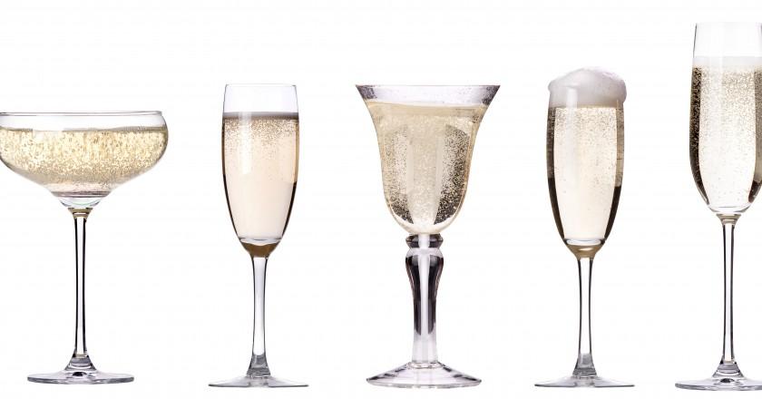 taças de champagne faz bem para a memória