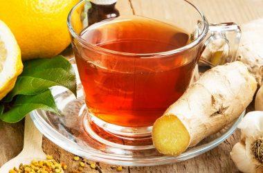 chá gengibre tratamentos para resfriado