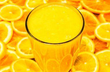 smoothie detox proteina ovo laranja
