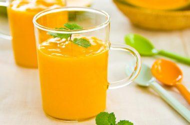 smoothie detox cérebro laranja abacaxi