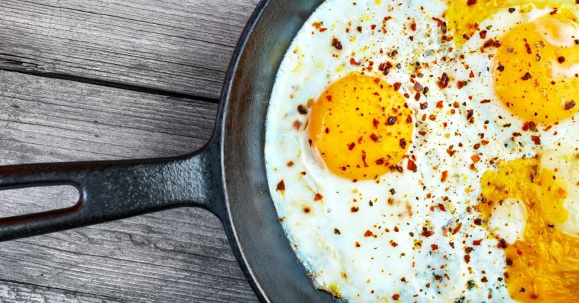 comer clara de ovo