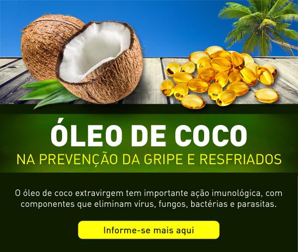 Óleo de Coco na prevenção da gripe e resfriado