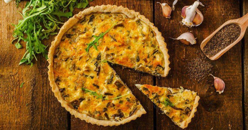 receita cetogênica quiche queijo brocolis