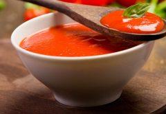 receita cetogênica molho de tomate